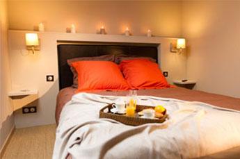 Chambre hôtel, tête de lit sur mesure, chambre d'hote, appartement hôtel