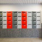 hall d entree professionnel, boite aux lettres