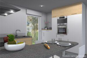 3D cuisine, cuisine, meuble cuisine