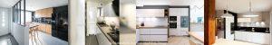 cuisine, cuisine scandinave, cuisine bois et noire, cuisine verrière, cuisine carreau de mertro
